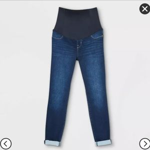 NWT Crossover Panel Maternity Skinny Jeans Sz 2